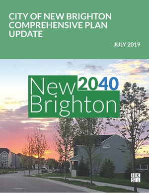 Front cover of 2040 Comprehensive Plan